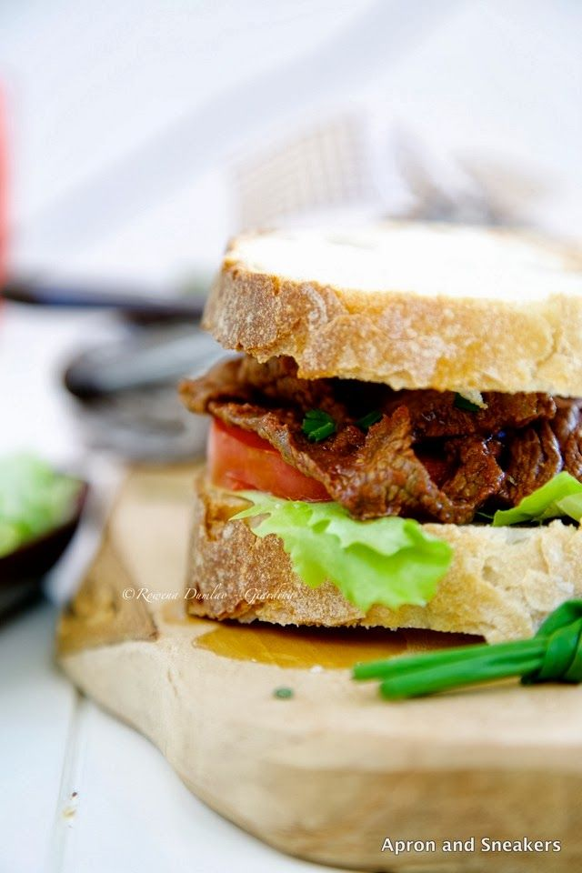 Apron and Sneakers - Cooking & Traveling in Italy and Beyond: Pepper and Paprika Beef Sandwich