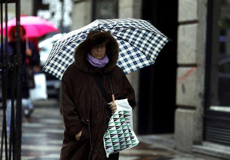 La lluvia y el viento desplazan a la nieve y ponen en alerta a toda España