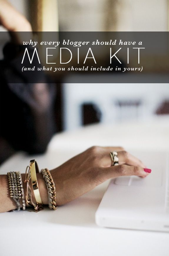 Why every blogger should have a media kit (and what you should include in yours)