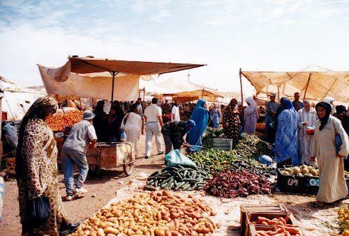 Grand Souk, Guelmim, Morocco