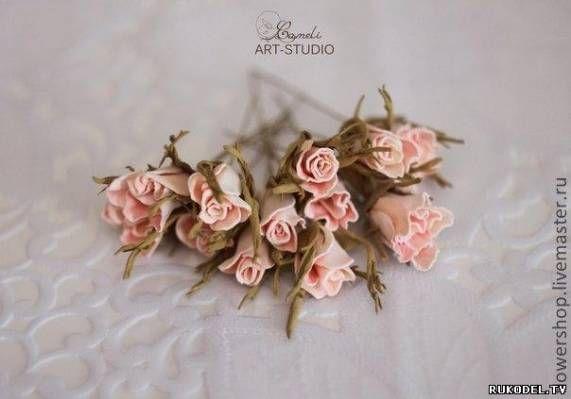 Венок из роз (фоамиран), мастер класс. - Фоамиран, фом - Поделки из разных материалов - Каталог статей - Рукодел.TV