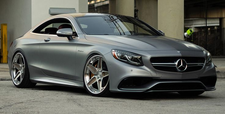matte-grey-mercedes-s63-amg-coupe-on-adv5s-track-spec-cs-01 - Supercharged