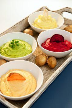 Kartoffelpüree-Variationen
