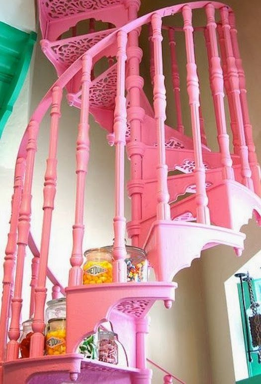 madonna inn stairs