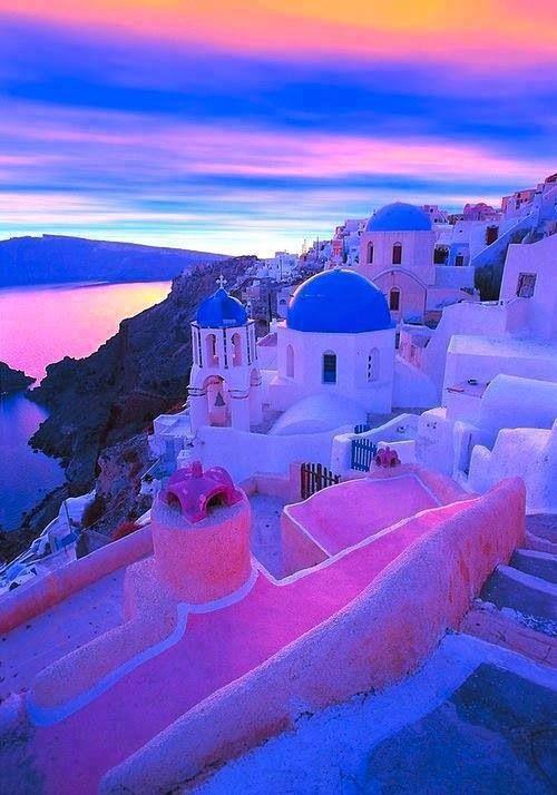 Greece ~ Awesome sunset!
