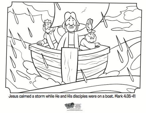 Bible Study - Jesus Calms The Storm - YouTube