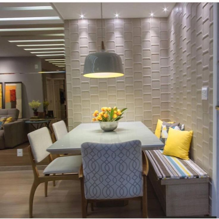 "4,306 Likes, 28 Comments - Decore Seu Estilo (@decoreseuestilo) on Instagram: ""Aquele cantinho.... Demais!! By @jodesign_interiores #arquiteturadeinteriores #dinningroom…"""
