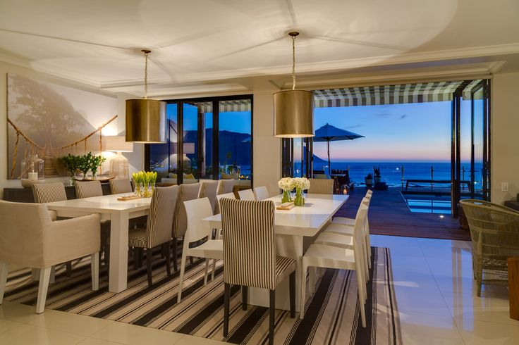 A gallery of photos of Cape View Clifton luxurious suites and facilities and the magnificent views from the deck over Clifton, Camps Bay and the Atlantic Ocean.