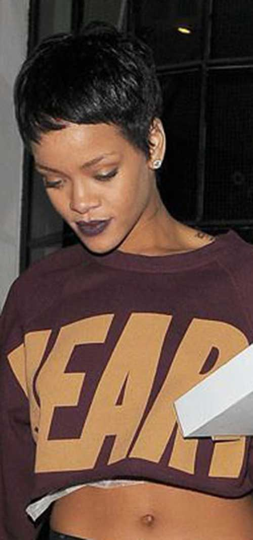 cool 15 best Rihanna Pixie cuts //  #Best #cuts #pixie #Rihanna