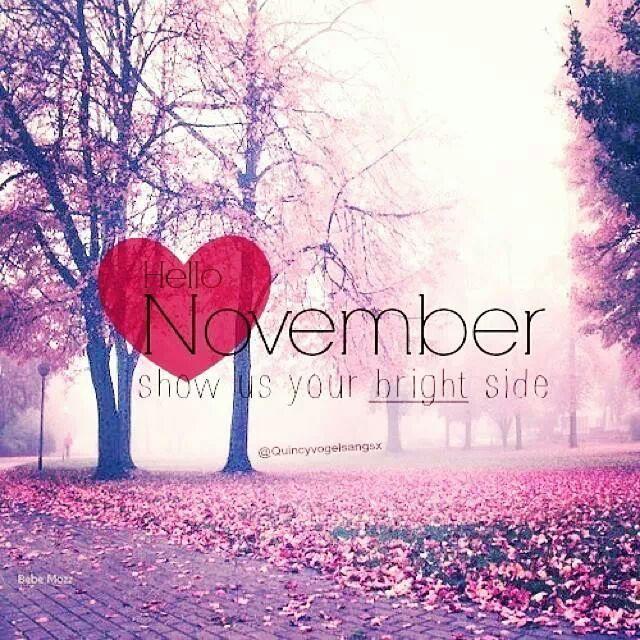 Delightful November.