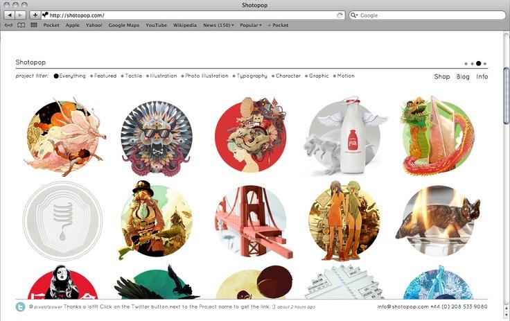 Shotopop website
