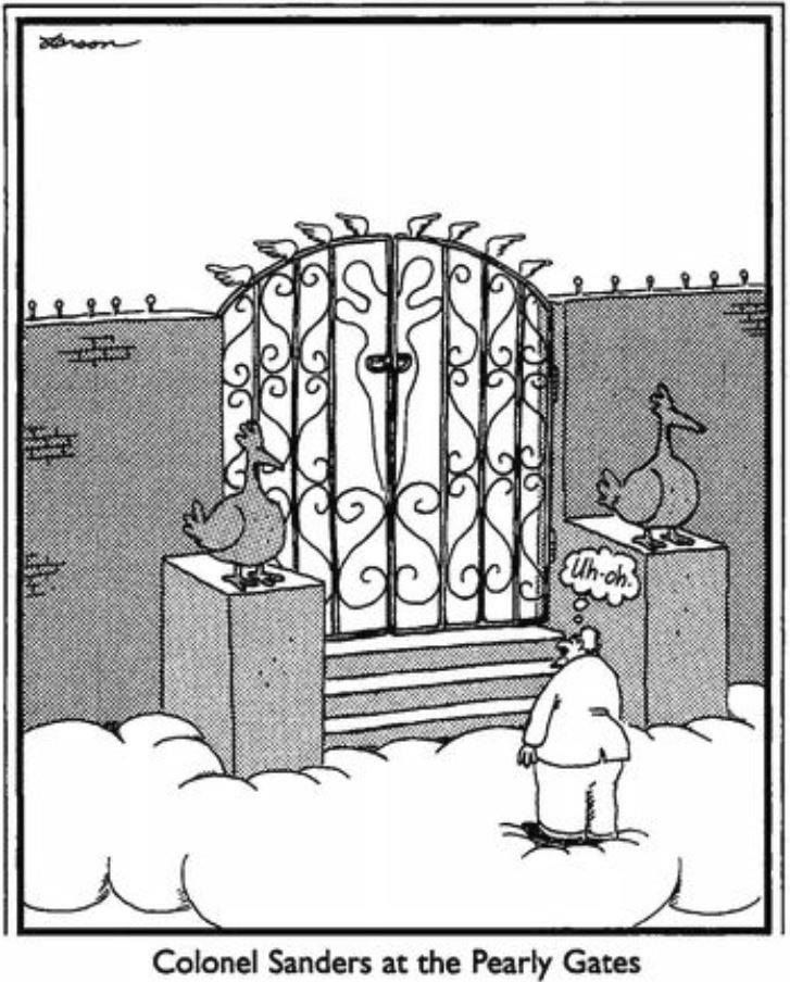 Far Side Nature S Warning Signs