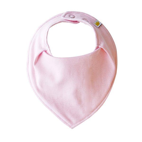 Bandana Dribble bib, Pink [Littlemico]