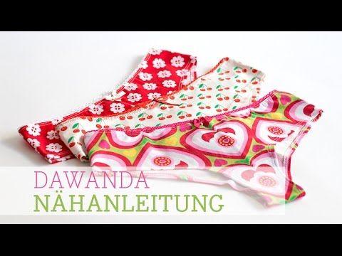 DaWanda Nähanleitung: Panties selber nähen - YouTube