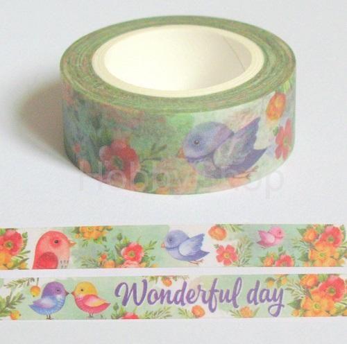 Washi papierová páska - Beautiful thing 10 m