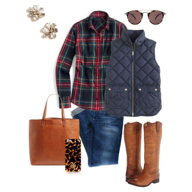 J. Crew vest for Christmas!