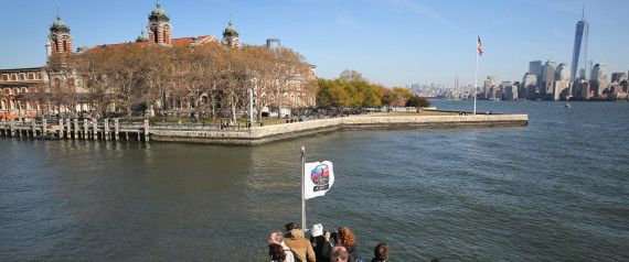 Ellis  island museum reopens after Sandy's floods. Ellis Island, the entry point for around 12 million legal immigrants ( including my paternal Grandfather and his twin sister)  from 1892 to 1954.