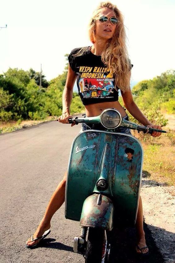 Nice Vespa Girl!!!: