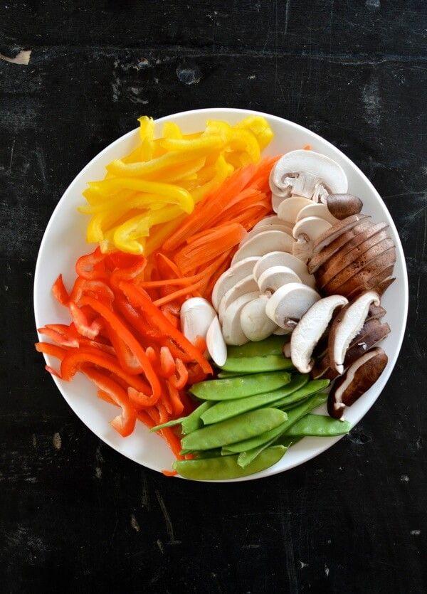 Vegetable Lo Mein, by thewoksoflife.com