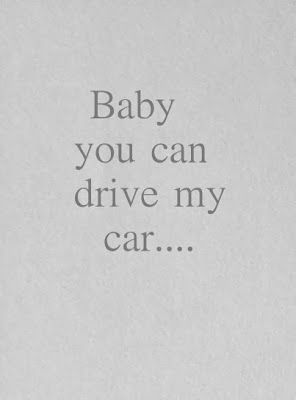 Beatles - Drive My Car - song lyrics, song quotes, songs, music lyrics, music quotes