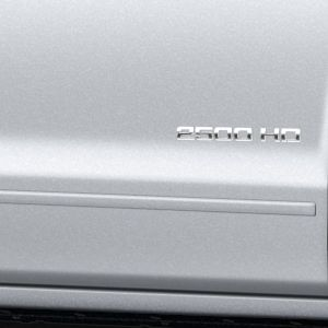 2016 #Silverado 3500 Double Cab Bodyside Molding Package, Quicksilver Metallic: Add accent styling and protection to your vehicle with this Bodyside Molding Package in Quicksilver Metallic.