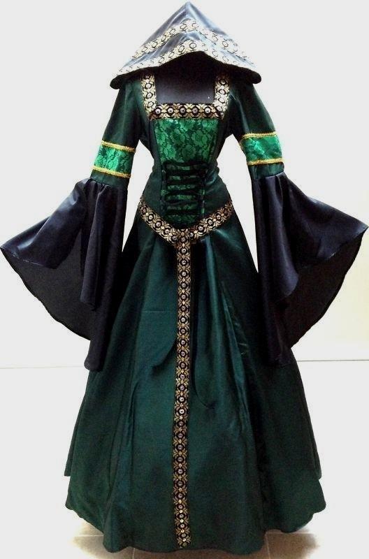 Arvonian dress (preferably not in green...)