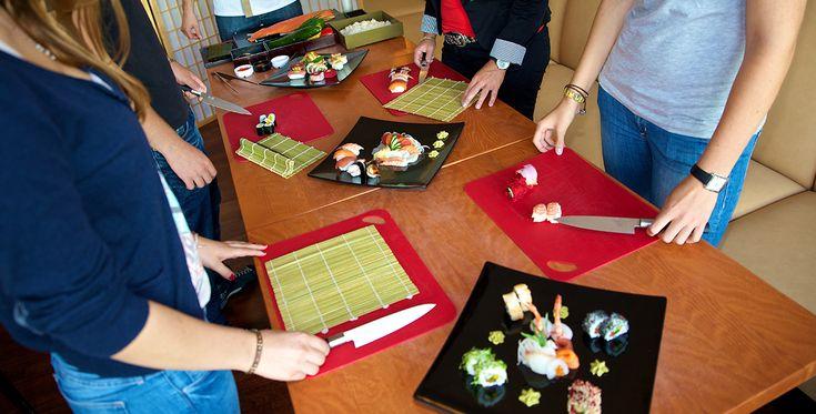 Sushi Kochkurs in Frankfurt #Kochkurse #Kochschule #erlebniskochen