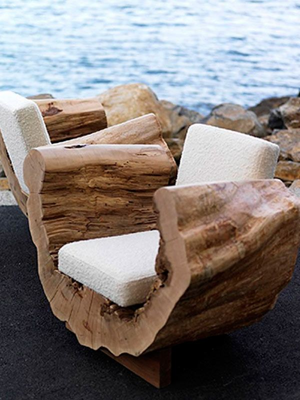 rustic tree furniture. 20 Unique Outdoor Furniture Ideas That Will Make You Say WOW Tree Chair Rustic E