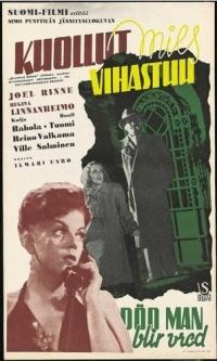 Ilmari Unho's movie Kuollut mies vihastuu (Dead Man Gets Angry), 1944