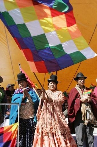 The Colorfull Flag of Highland Indians ~ Aymara's & Qechuas  BANDERA DEL IMPRECISO NACIONALISMO BOLIVIA-ECUADOR-PERU-PARAGUAY.....