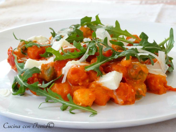 Gnocchi Fantasia di primavera, piatto fresco #chefpataro #patarognocchi