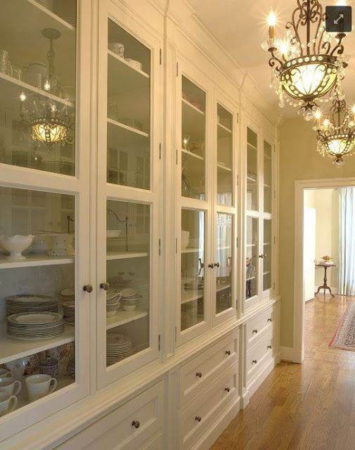pantry drwaers and cabinets...handles?