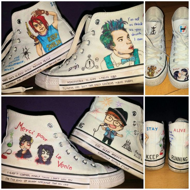 Emo Quartet shoes instagram: @eenterprisee