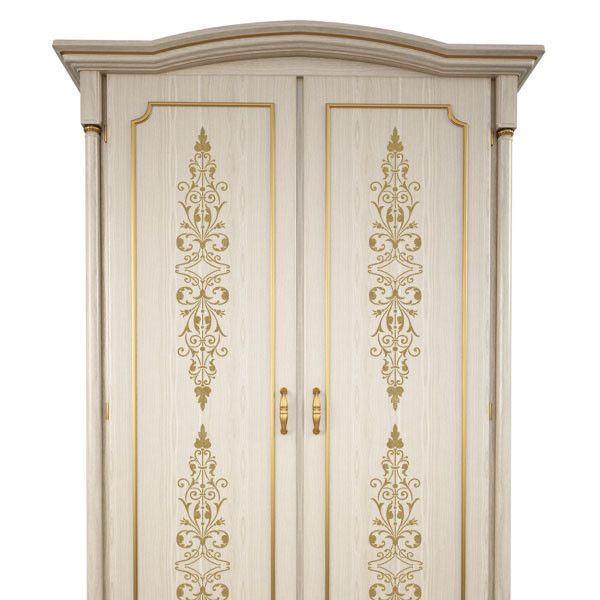 Use the Filagree Panel furniture stencils vertically on door panels, or vertically on drawer fronts. This stencil can also be repeated end to end to make a beautiful wall stencil border. - Details - S
