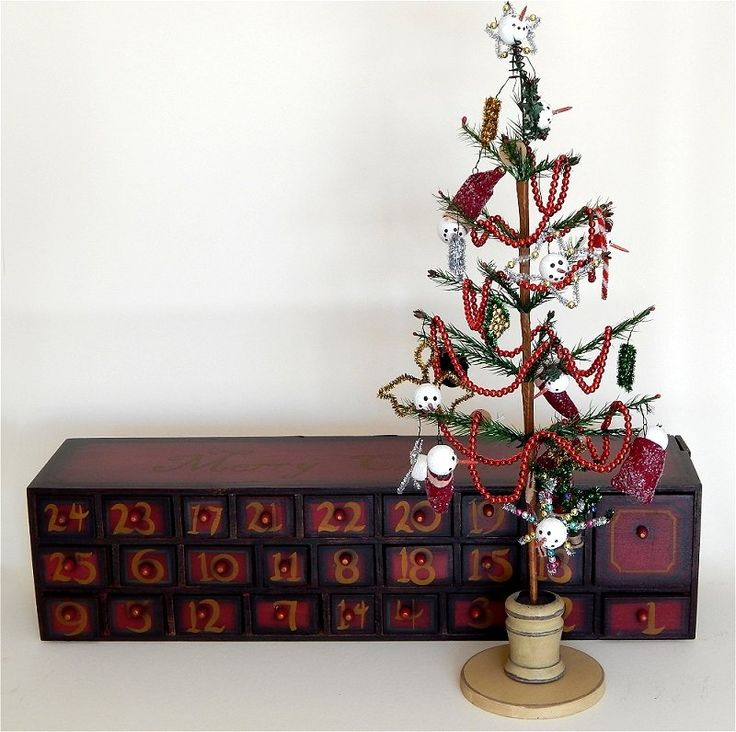 31 Best Wooden Advent Calendars With Drawers Images On