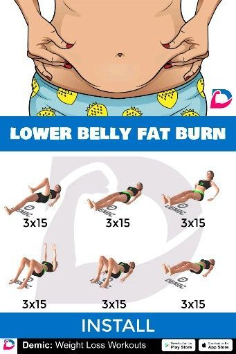 Lower Belly Fat Burn Workout