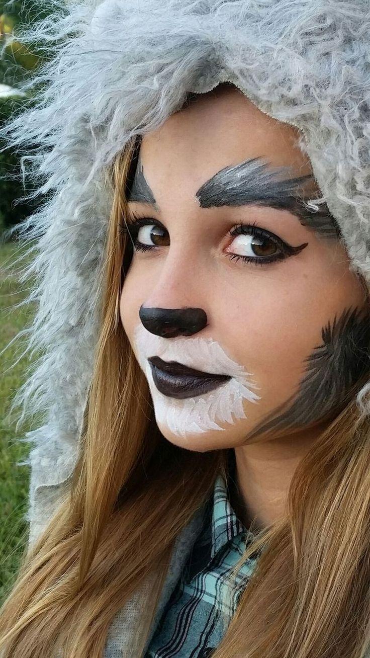 Фото грима волка