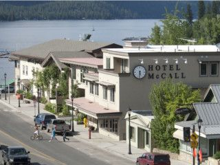 Great place for Anniversary or Honeymoon! (fine dining too)  Hotel McCall in McCall, Idaho (1-800-844-3246)