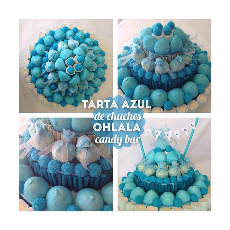 tarta-azul-de-chuches-ohlala-candy-bar