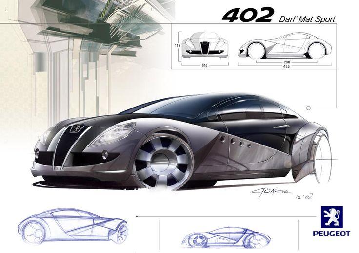 desenhos conceptuais conceituais de carros - carros conceito