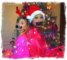 Duct Tape Silent Night | Happy, Christmas and Christmas cards on Pinterest