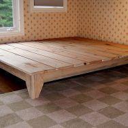 interior design. Diy Platform Bed Plans Free Image Of Wood Platform.