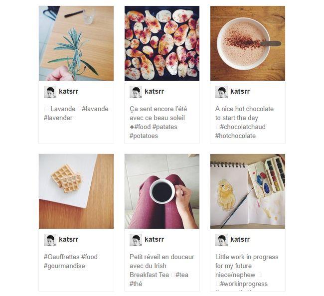 Tuto Blog : Ajouter un widget Instagram sur son blog Blogger . Lady Bird Red || http://ladybirdr.blogspot.fr/