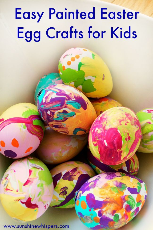 Your Kids Will Love Doing This Simple Easter Egg Craft