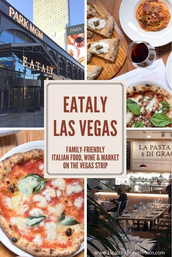 Eataly Las Vegas Family Friendly Italian Food Market On The