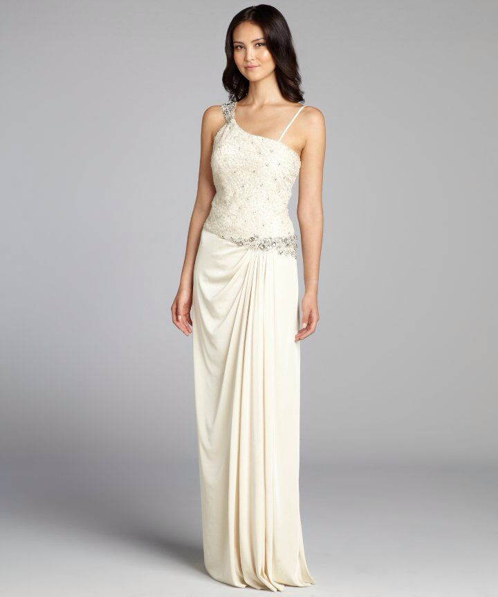 12 best images about fancy party dresses on pinterest for Jersey knit wedding dress