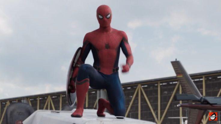 Spiderman Civil War movie