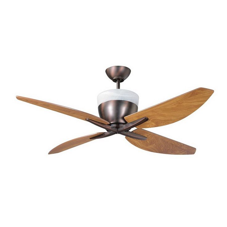 Lowes Tropical Outdoor Ceiling Fan: $395.90 Shop Kendal Lighting 52-in Savoy Oil-Brushed