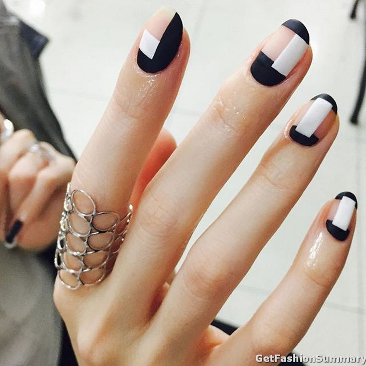 57 best amazing nails art ideas images on pinterest amazing different color patches trendy nail art prinsesfo Image collections