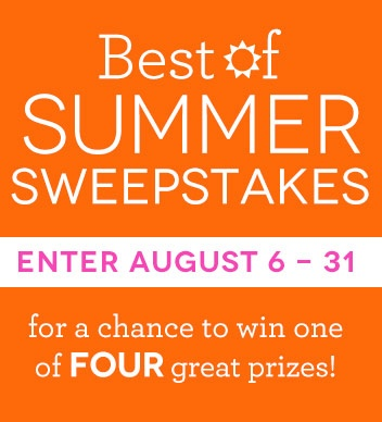 I just entered to win the best of summer! Join me! #fyfsummer